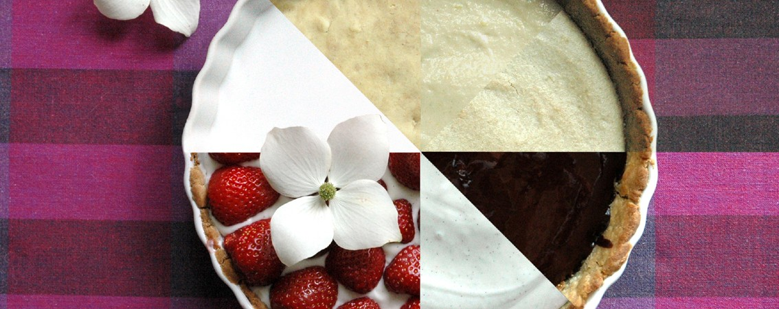 Jordbærtærte – uden alt og alligevel med det hele