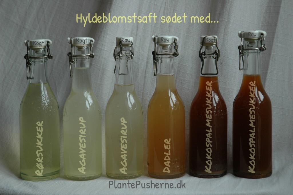 Hyldeblomstsaft uden konserveringsmidler
