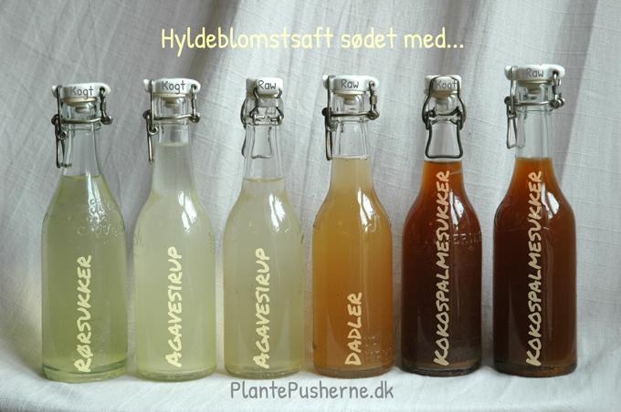 Hyldeblomstsaft sukkerfri