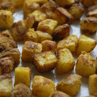 Rystekartofler – knasende sprøde, fedtfri ovnkartofler