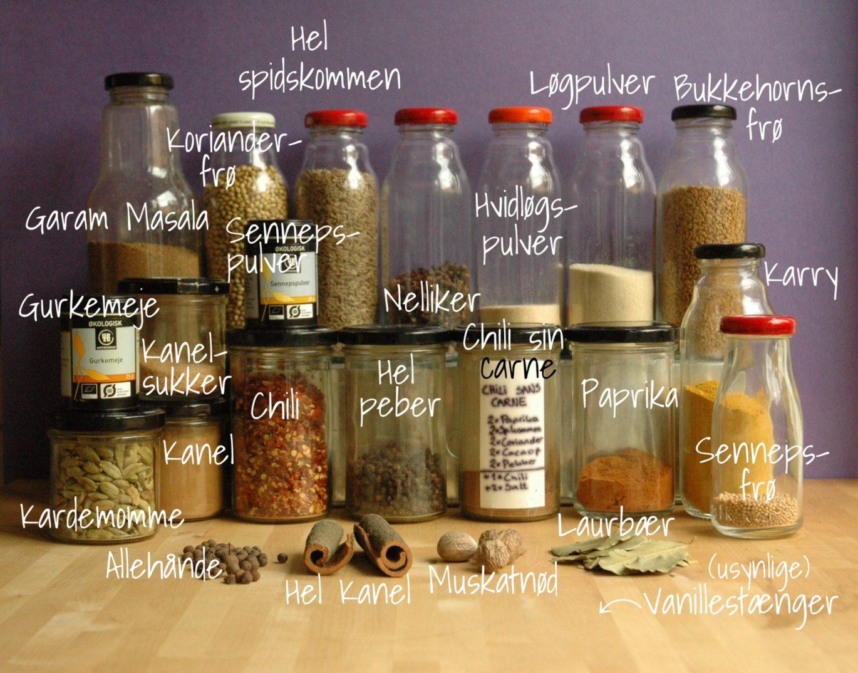 Krydderier Vegansk køkken