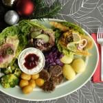 Vegansk vegetarisk julemad julefrokost catering