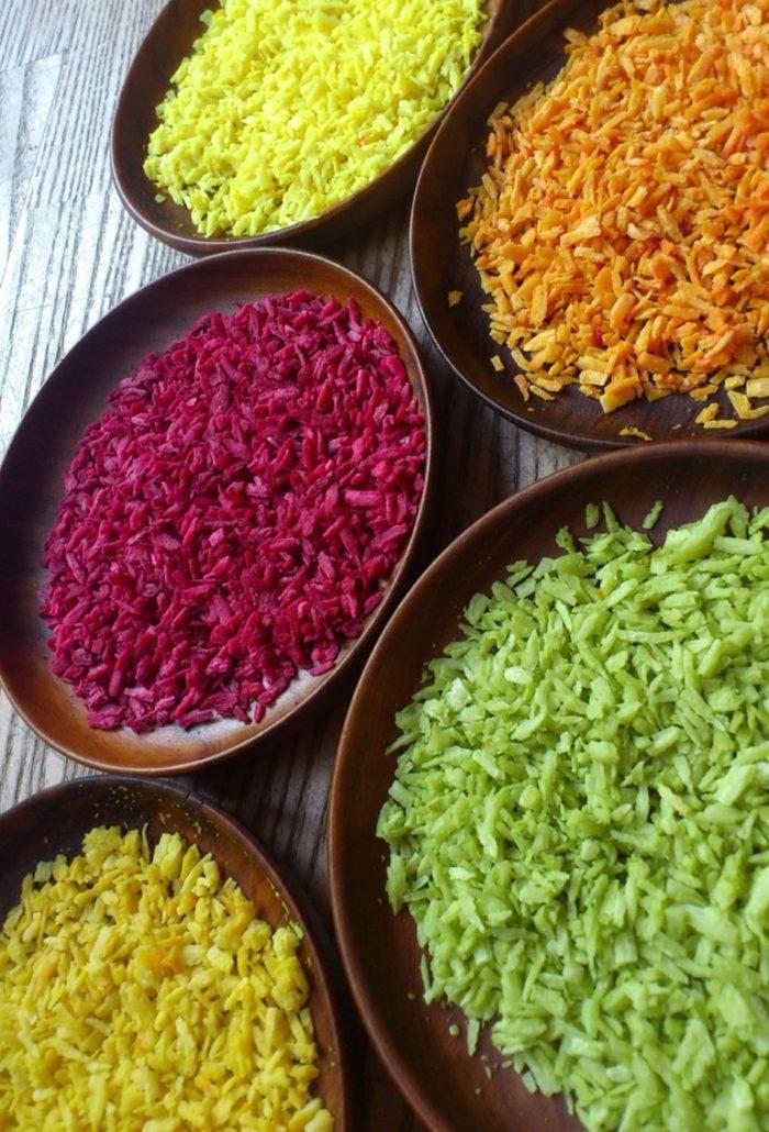 Naturlig madfarve