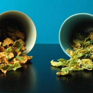 Rosenkålschips