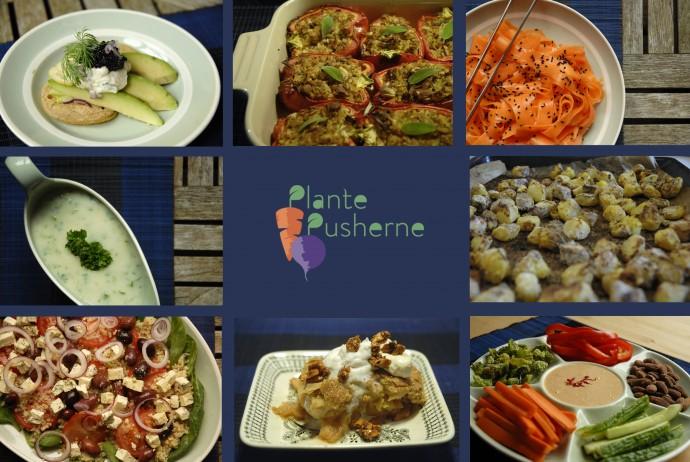 3 retters vegansk menu buffet
