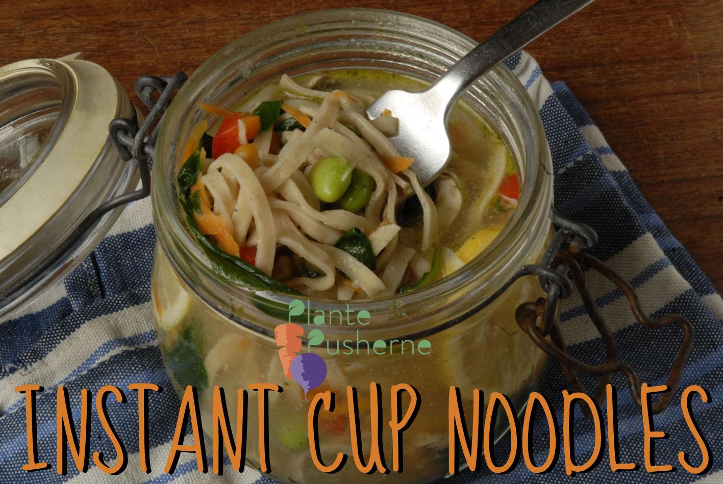Cup Noodles Veganske