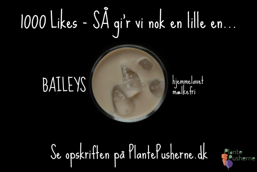 Baileys sukkerfri opskrift tak