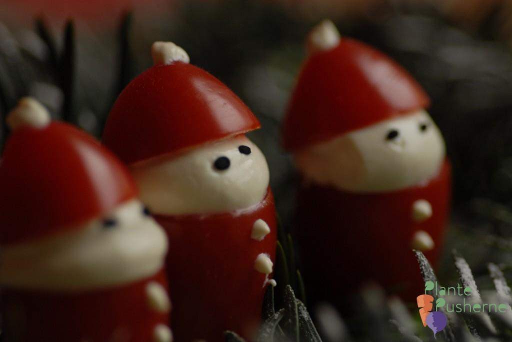 Tomatnisser - vegansk jul