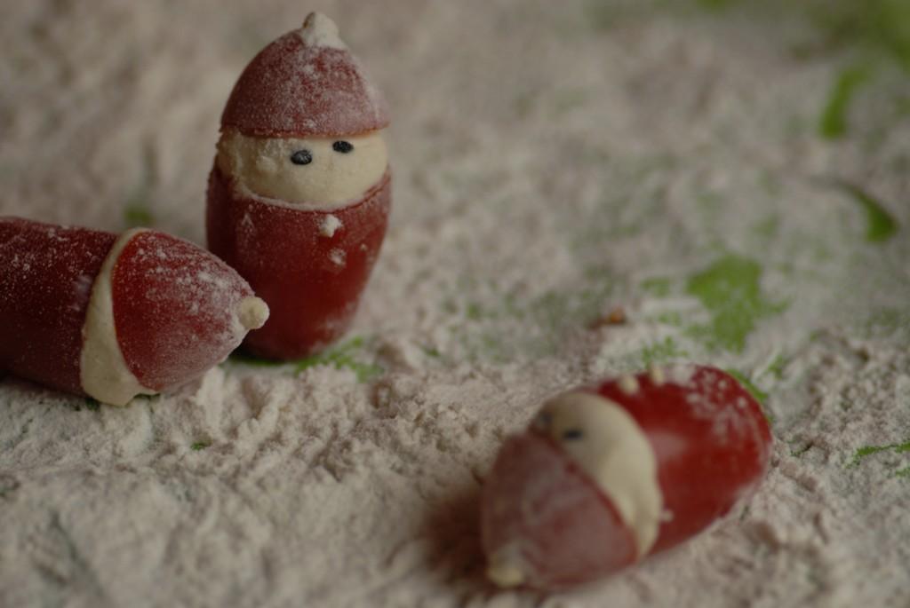 tomatnisser slås vegansk jul