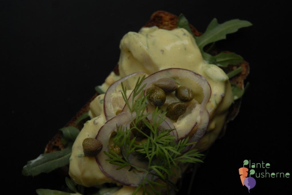 vegetarisk auberginesild vegansk