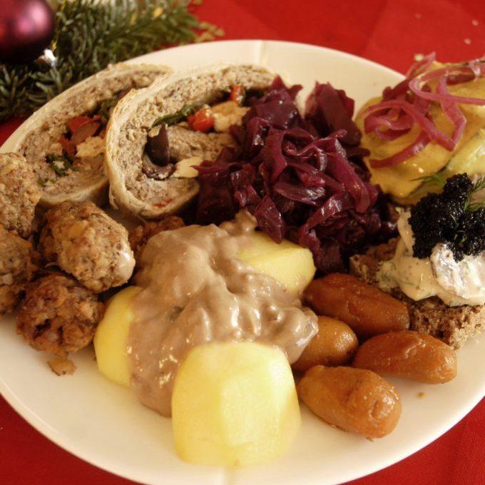 Vores veganske julemad 2014
