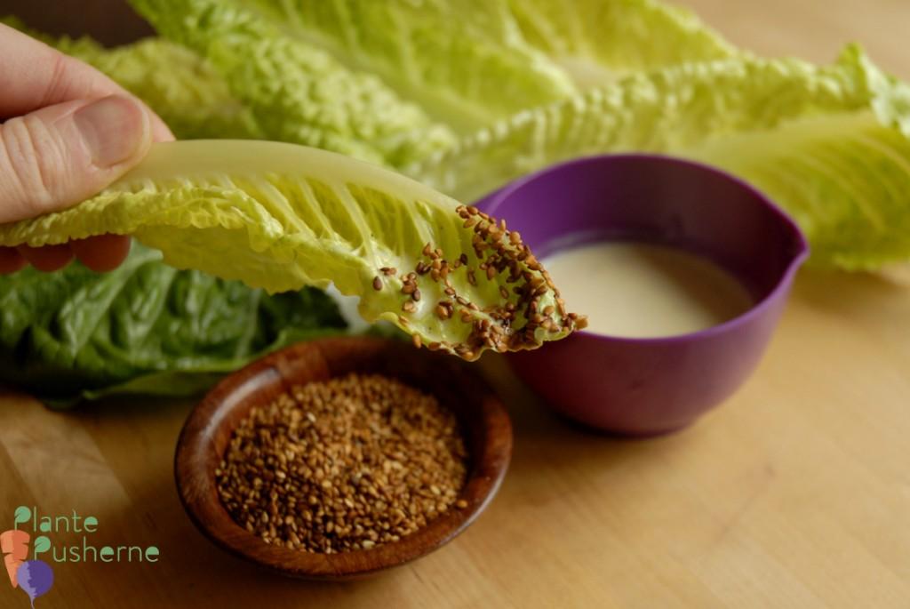 mælkefri dressing soyaristede kerner