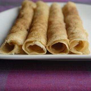Tynde, glutenfri, veganske pandekager