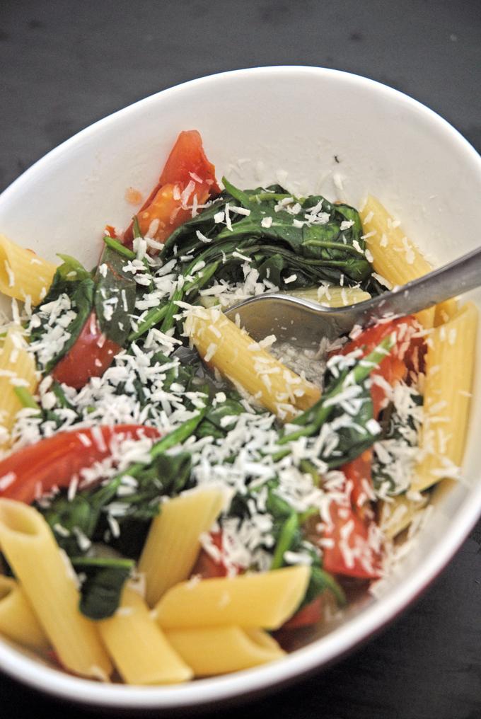 Vegansk one pot pasta 1