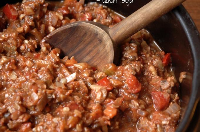 vegetarisk kødsovs uden sojagranulat