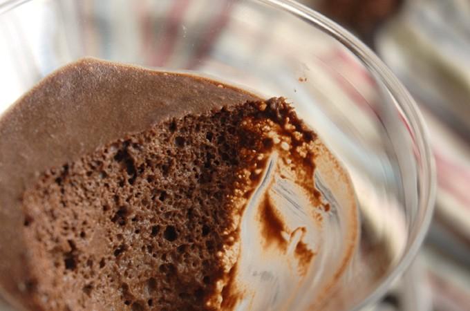 vegansk chokolademousse