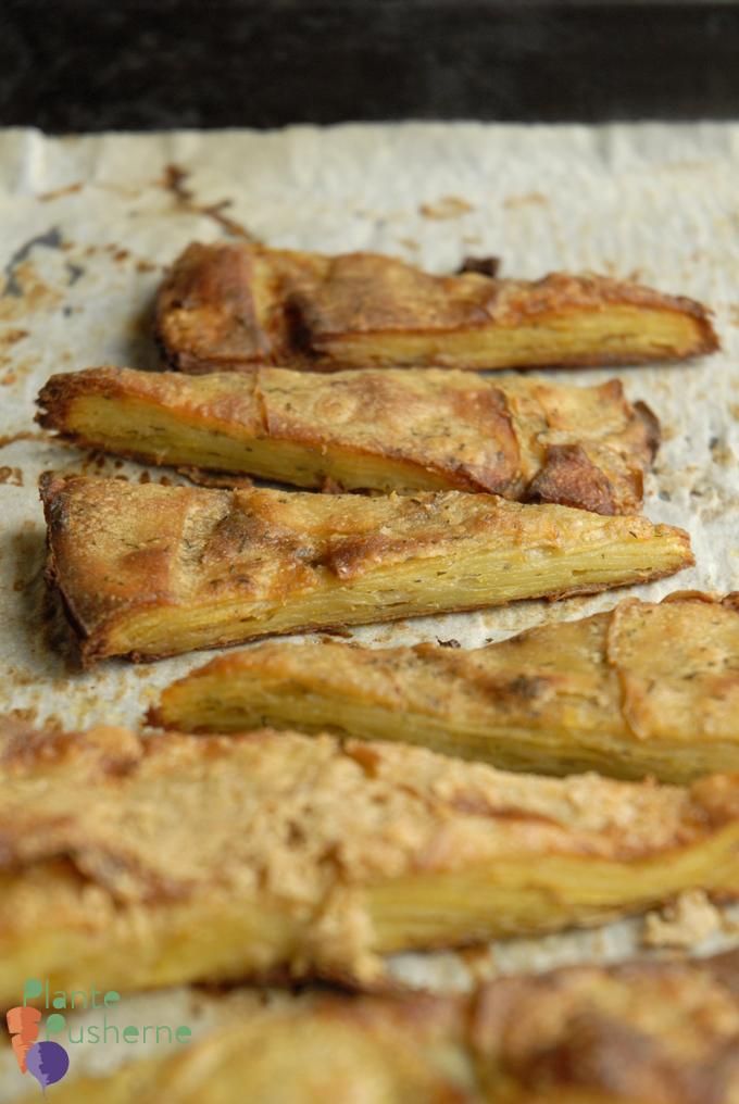 TYnde sprøde kartofler
