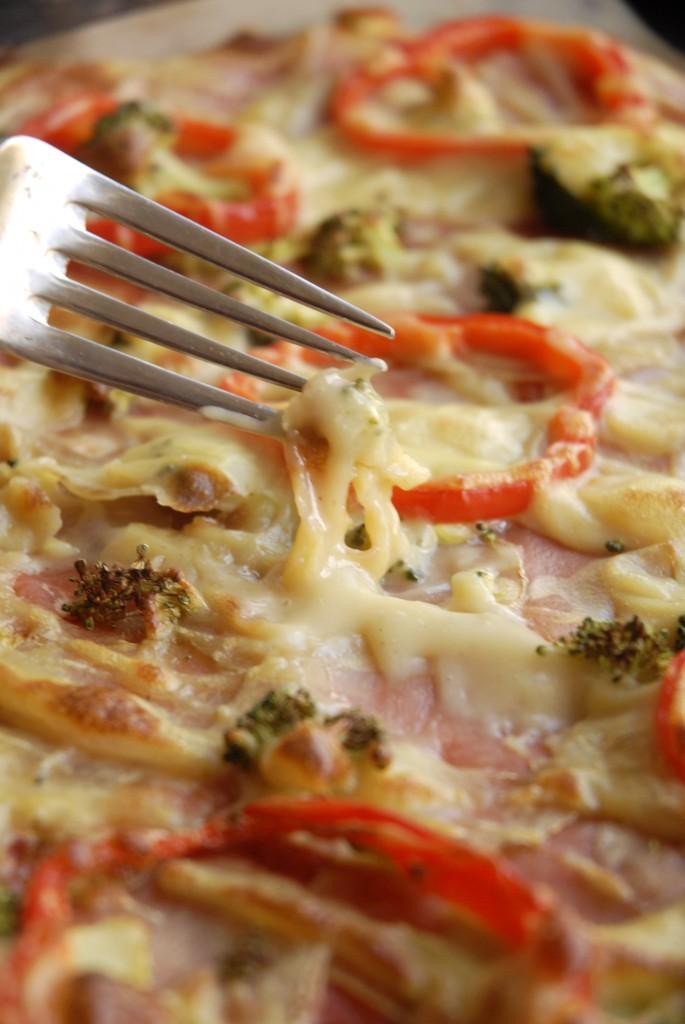 vegansk pizzaost