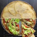 glutenfri pommes pizza
