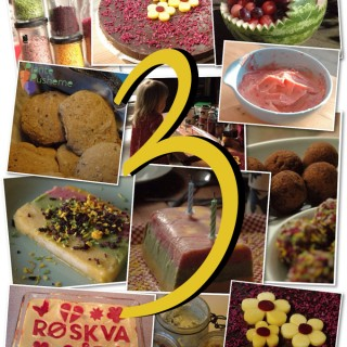 Vegansk børnefødselsdag – 3 år