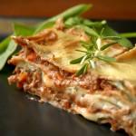 Episk vegansk lasagne
