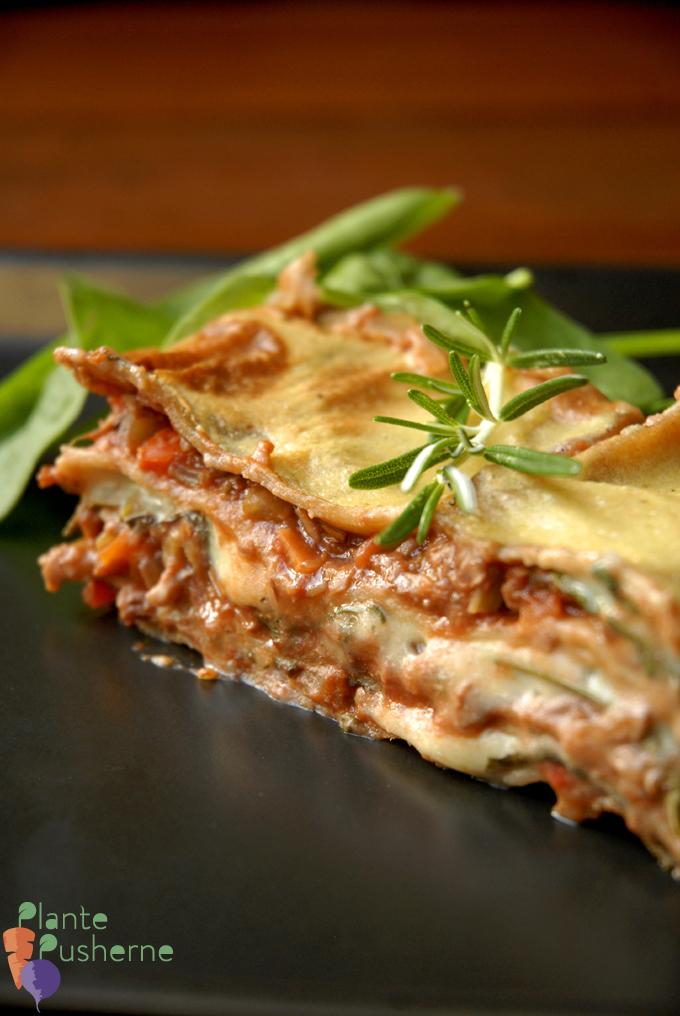 Bedste vegansk lasagne