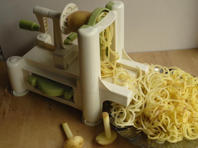 Kartofler spiralizer