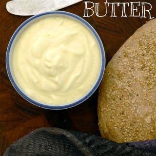 Magisk vegansk smør – med aquafaba (sojafri)