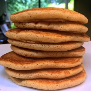 tykke veganske pandekager