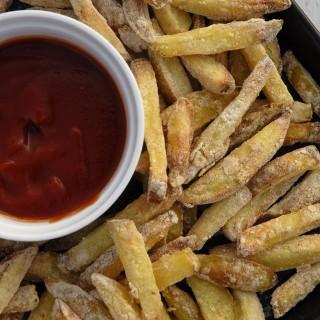 Perfekt Sprøde Fedtfri Pommes Frites