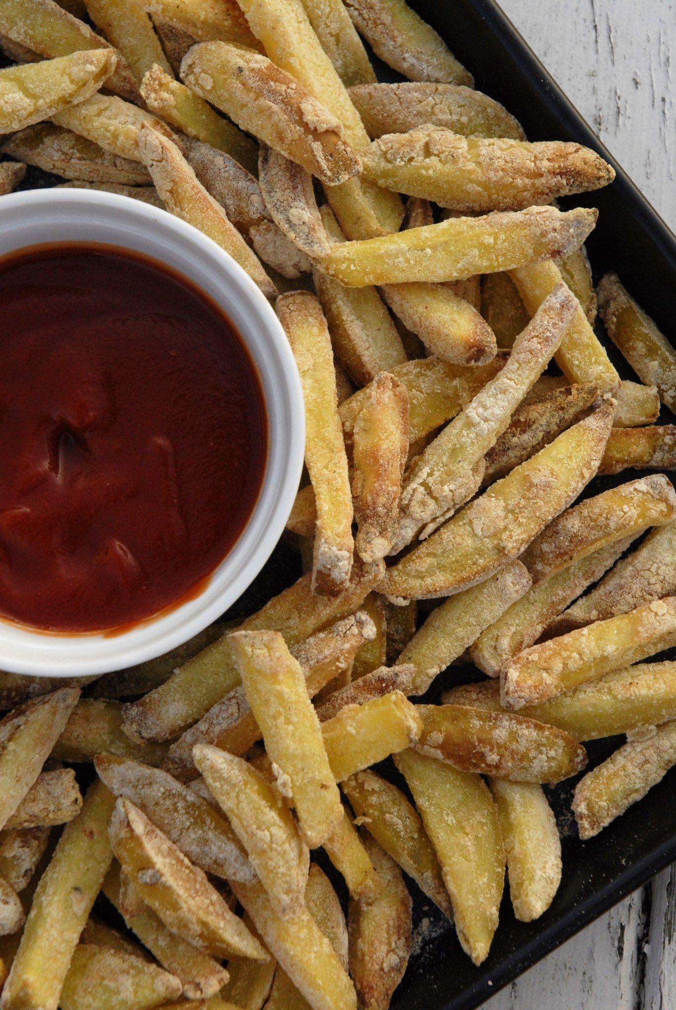 fedtfri pommes fritter
