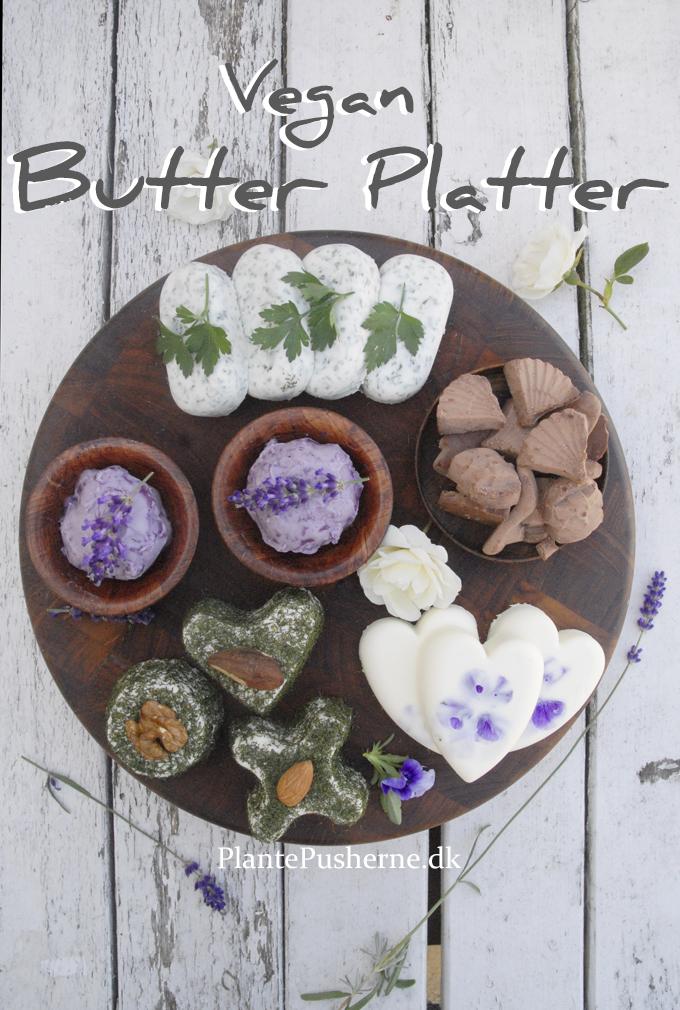 Vegan butter platter