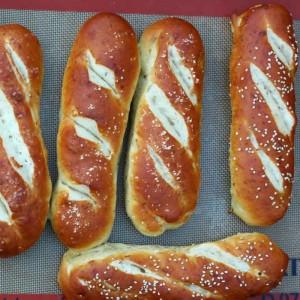 hot dog brød uden æg