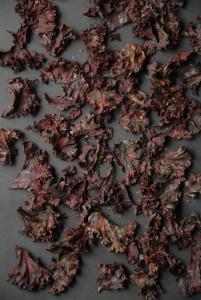oliefri kålchips