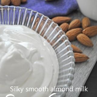 Almond milk sour cream (vegan)