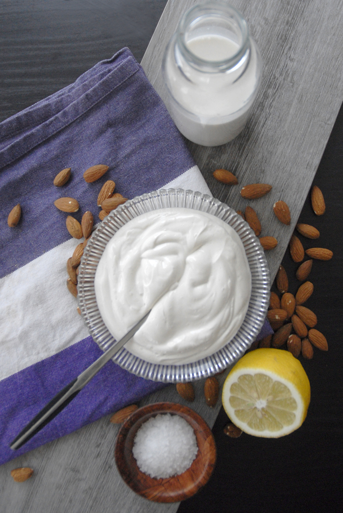 vegan sour cream almond milk