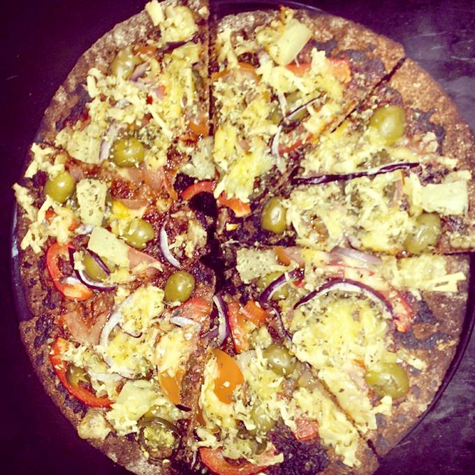 knækbrødspizzaer