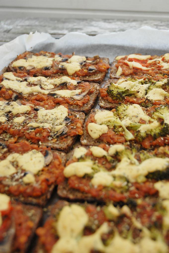 rugbrødspizza