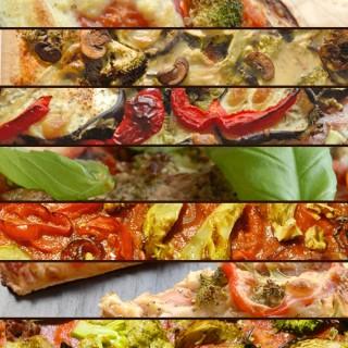 Ultimativ inspiration til vegansk pizza (uden 'produkter')