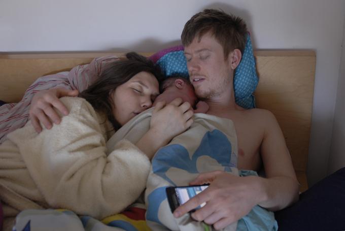 hjemmefødsel seng
