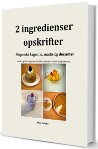 2 ingredienser vegansk