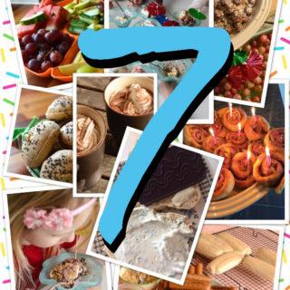 Børnefødselsdag Inspiration vegansk 7 års børnefødselsdag