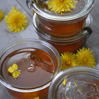 The best vegan dandelion honey – that actually tastes like honey.