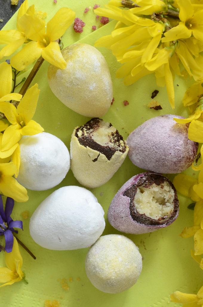 Dragee eggs recipe homemade