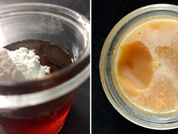 Seeding with vegan honey