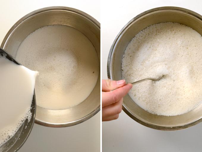Mandelyoghurt opskrift