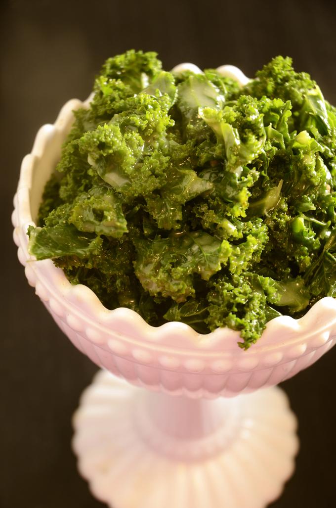 Stuvet grønkål
