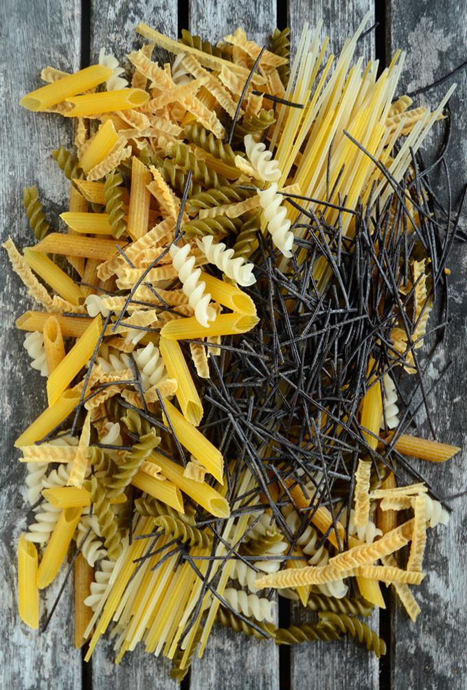 Typer af glutenfri pasta