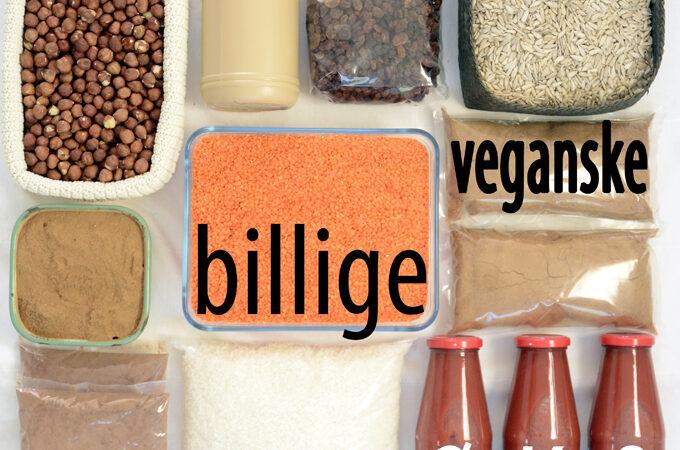 billig vegansk mad