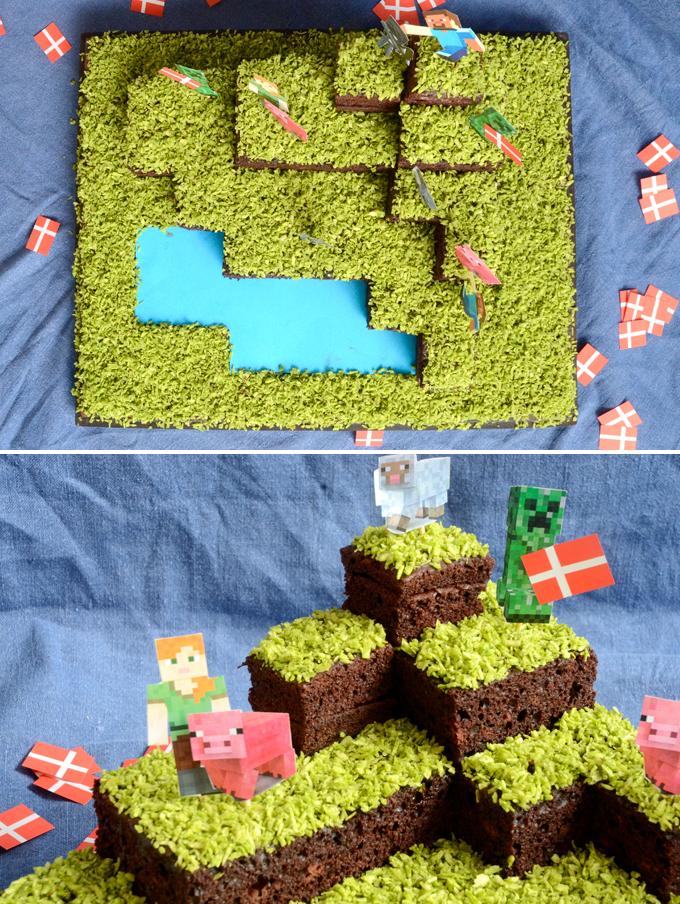 Minecraft kage opskrift